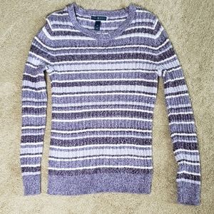 Karen Scott Women's Lightweight Striped Sweater